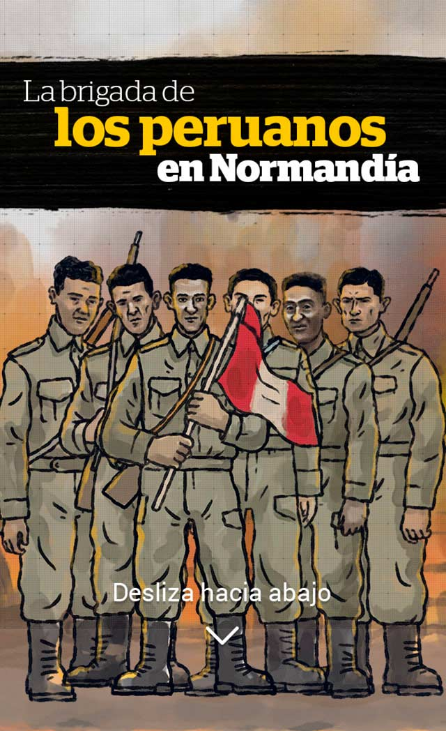 La Brigada De Los Peruanos En Normandia El Comercio Peru