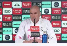 """Zinedine Zidane: """"Ni antes estábamos tan mal, ni ahora somos los mejores"""""""