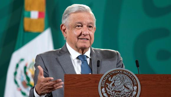 El presidente mexicano Andrés Manuel López Obrador habla durante una conferencia de prensa en el Palacio Nacional en la Ciudad de México, México. (Foto: Presidencia de México /REUTERS).