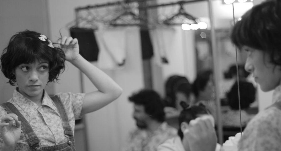 Jely Reátegui cuenta el origen de su pasión por el teatro. (Foto: Facebook Los Fabulatas)