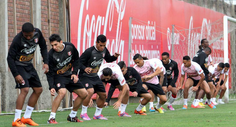 Con Pizarro a la cabeza: Perú entrena para chocar con Guatemala - 3