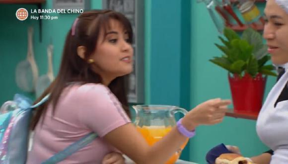 La cantante Amy Gutiérrez hizo su debut actoral en telenovela. (Foto: Captura América TV)