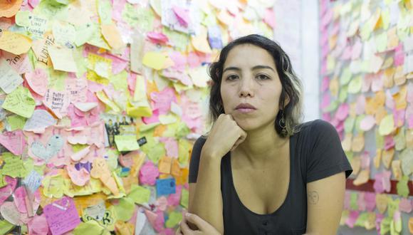 Tilsa Otta Vildoso (Lima, 1982) es  poeta y artista audiovisual. (Foto: Richard Hirano)