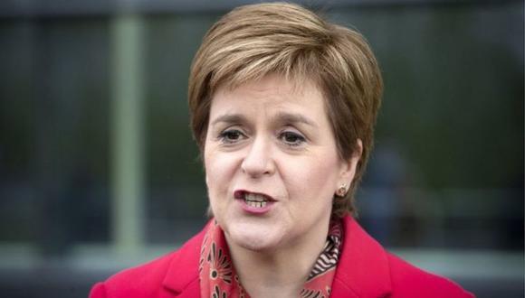 El partido que lidera Nicola Sturgeon, el SNP, se alzó con la victoria en las elecciones escocesas realizadas este jueves. (PA MEDIA).