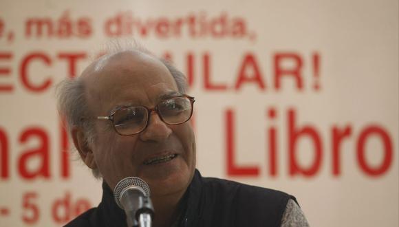 El caricaturista Quino (Joaquín Salvador Lavado) durante su visita a Lima el 21 de julio de 2009 para la Feria Internacional del Libro. El creador de Mafalda falleció el 30 de septiembre a los 88 años. (Foto: Fernando Fujimoto/El Comercio)