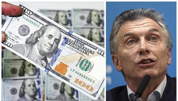 Los argentinos compraron un neto de US$18.000 millones en notas bancarias en dólares el año pasado, cuando el peso se desplomó 50% frente al dólar.