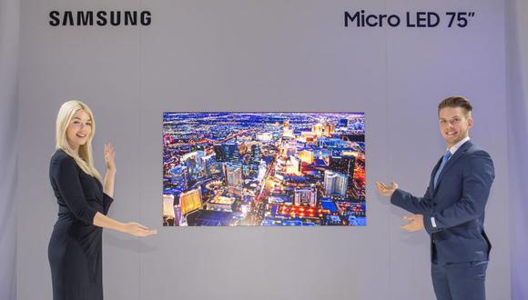 Las imágenes producidas por MicroLED tienen una calidad similar a la de OLED, con la diferencia de que OLED usa componentes orgánicos y, por tanto, perecederos.(Foto: Samsung // Difusión)