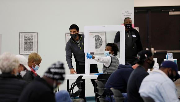 Centro de votación en Charlotte, Carolina del Norte. (Foto: Reuters)