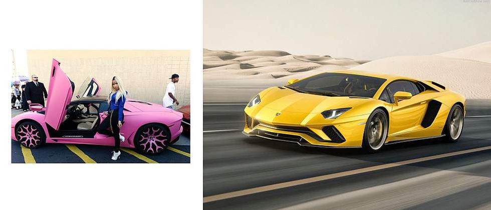 Conoce los autos más espectaculares de las famosas - 1