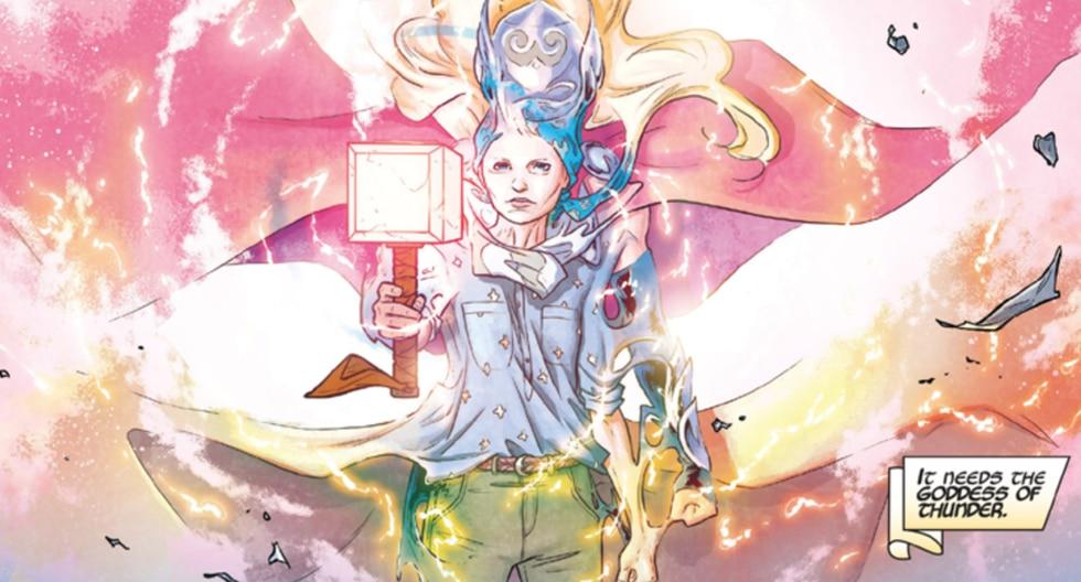 Jane Foster se convierte en Thor (Foto: Marvel Comics)