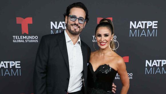 Catherine Siachoque y Miguel Varoni llevan 22 años de relación. (Foto: Telemundo).