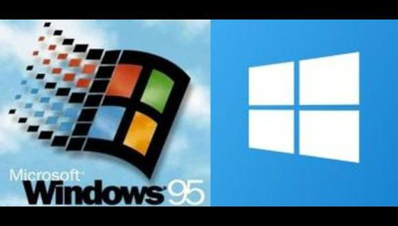 Estas son las diferencias entre Windows 95 y Windows 10 [VIDEO]