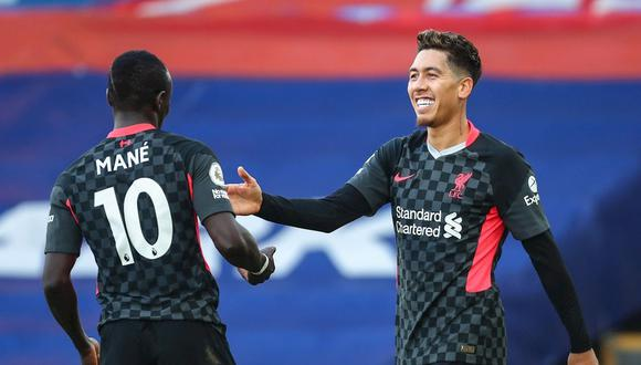 Liverpool goleó 7-0 a Crystal Palace por la Premier League. (Foto: EFE)