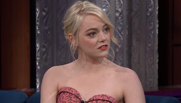 La actriz Emma Stone reveló haber sufrido de ansiedad desde los siete años. (Foto: Difusión)