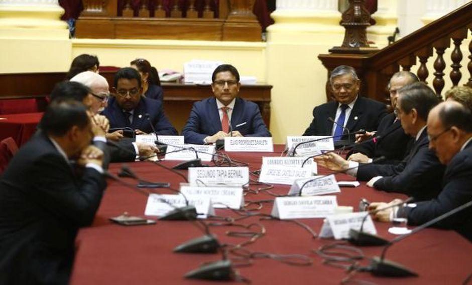 El congresista Elías Rodríguez preside la Comisión de Defensa Nacional y Orden Interno. (Foto: Congreso)