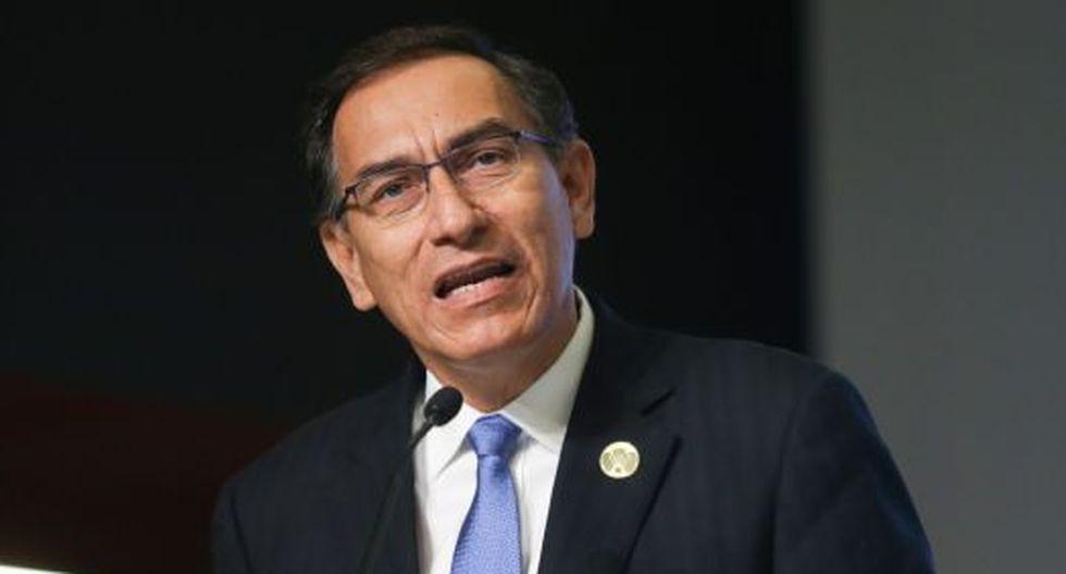 Martín Vizcarra se refirió también a la intención de Keiko Fujimori de que su caso sea conocido intencionalmente. (Foto: Presidencia Perú)
