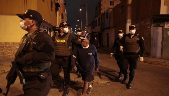La Ley de Protección Policial entró en vigencia en pleno estado de emergencia, dictado por el Ejecutivo el 16 de marzo para frenar el avance del coronavirus.  (Foto: Hugo Pérez)