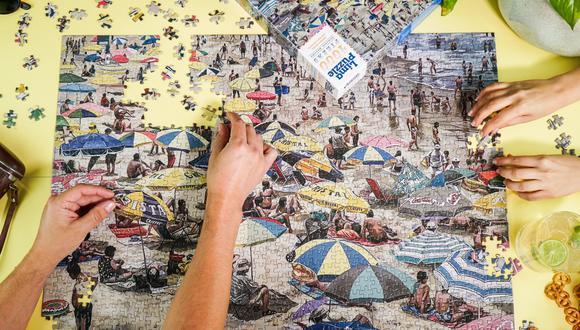 La primera colección de Lima Puzzle reúne las obras de nueve artistas peruanos. En la foto, Aguas Dulces por Pablo Patrucco.