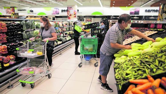 Un rubro demandado. Según Quantico Trends, en el mes de mayo los supermercados en el Perú tuvieron cerca de 152.000 menciones en diversas plataformas digitales. (Foto: Anthony Niño de Guzmán)
