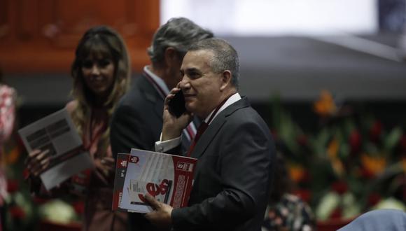 El congresista electo Daniel Urresti señaló que espera que el antejuicio político a Luciana León se haga en los primeros meses del nuevo Parlamento. (Foto: César Campos / GEC)