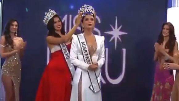 Janick Maceta fue coronada como la Miss Perú 2020 por decisión unánime. (Foto: Miss Perú)