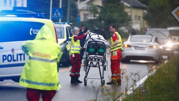 El noruego Philip Manshaus, 21 años, sospechoso de homicidio y tentativa de homicidio, que disparó el sábado contra una mezquita de los alrededores de Oslo, rechazó todas las acusaciones en su contra.  (Foto: AFP)