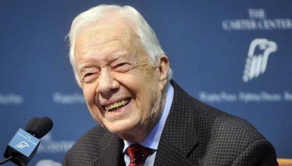 Jimmy Carter ya no necesita tratamiento contra el cáncer