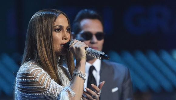 Jennifer Lopez y Marc Anthony han mantenido una relación cercana desde su separación en 2011. (Foto: AFP)