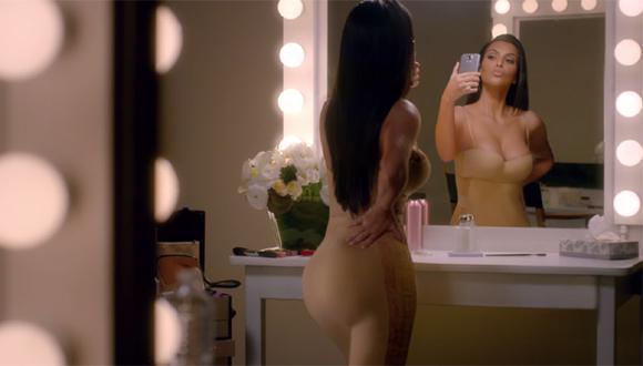 Kim Kardashian estrenó hilarante comercial para el Super Bowl