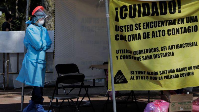América Latina todavía no supera la primera ola de casos de coronavirus. (Getty Images).