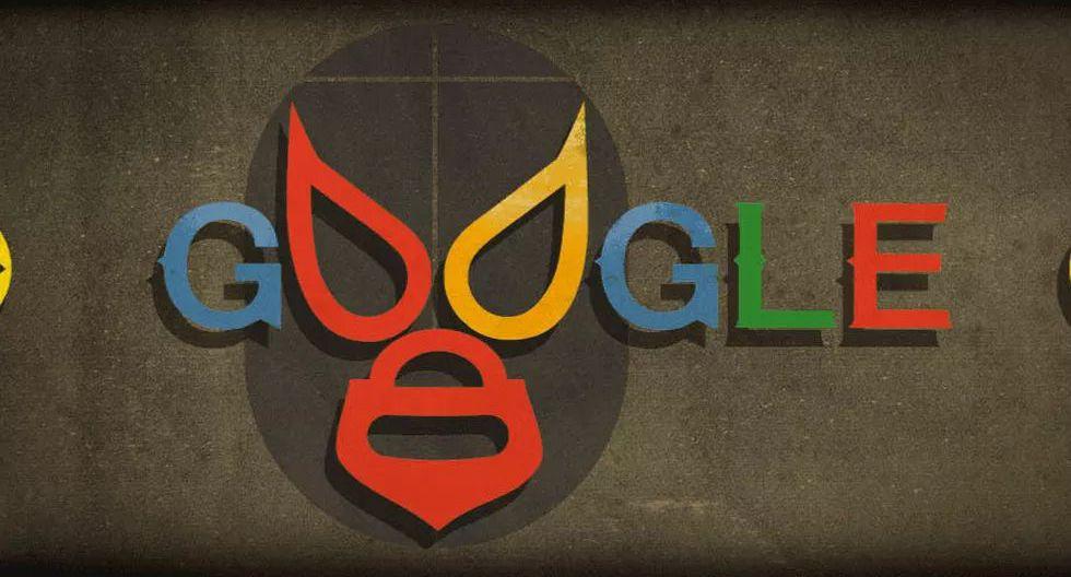 Google celebró el cumpleaños del luchador mexicano El Santo, también conocido como El Enmascarado de Plata, con un doodle el 23 de septiembre de 2016. (Foto: Captura de pantalla)