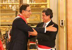 Carlos Lozada juró como ministro de Transportes y Comunicaciones en reemplazo de Edmer Trujillo