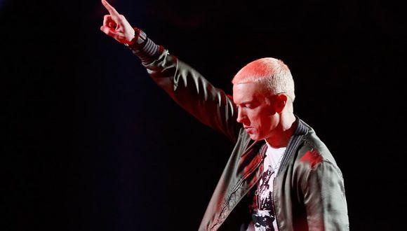 Eminem fue entrevistado por el Servicio Secreto de Estados Unidos por sus canciones en contra de Donald Trump. (Fotos: AFP)