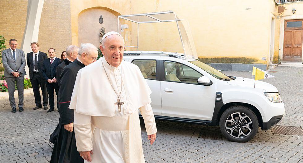 El nuevo papamóvil es un Dacia Duster donado por el Grupo Renault. (Foto: Grupo Renault)