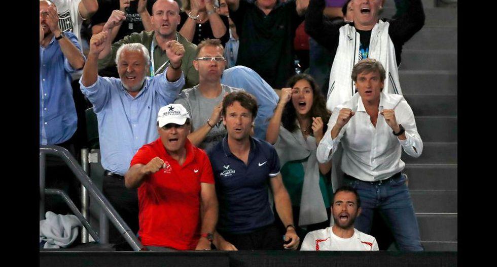 Así vivieron la final las parejas de Federer y Nadal [FOTOS] - 11