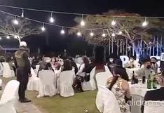 Ica: 65 personas intervenidas durante un matrimonio realizado en Chincha | VIDEO