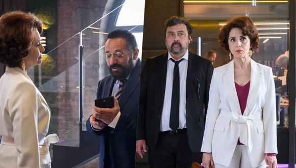 """Adriana Ozores en una escena del capítulo 10 de """"Los hombres de Paco""""."""
