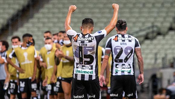 Ceará enfrentó al Bolívar por la Copa Sudamericana   Foto: Ceará