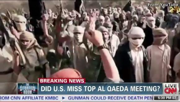 CNN emite video de supuesta gran reunión de Al Qaeda en Yemen