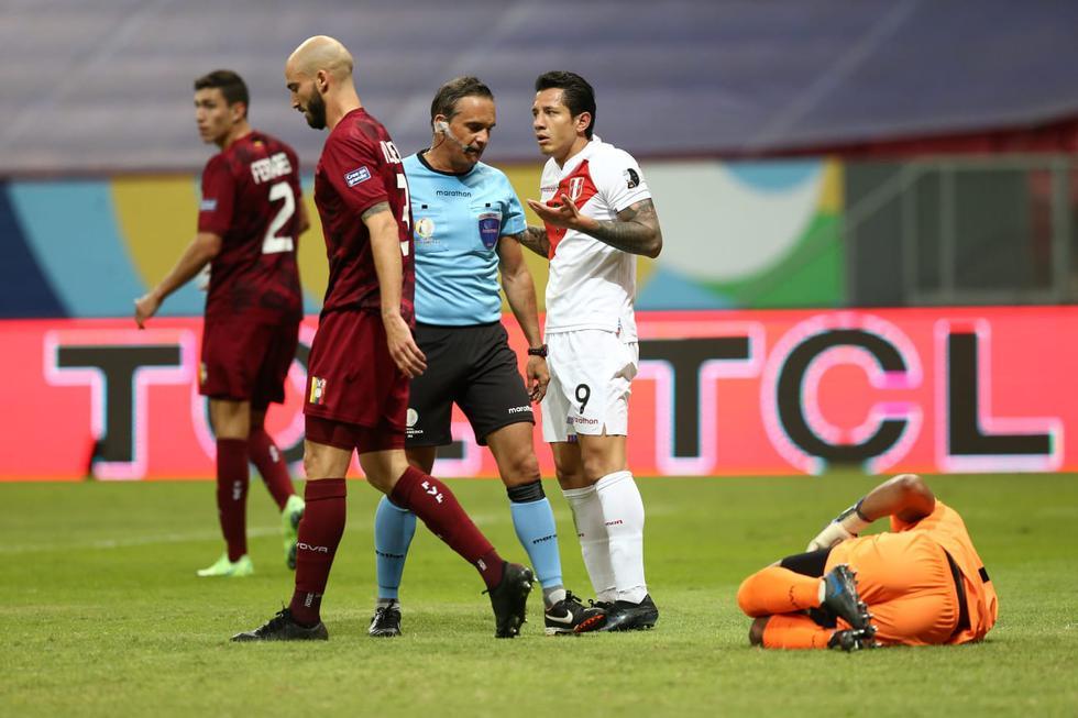 Perú vs. Venezuela por la Copa América 2021   Foto: Jesús Saucedo / @photo.gec