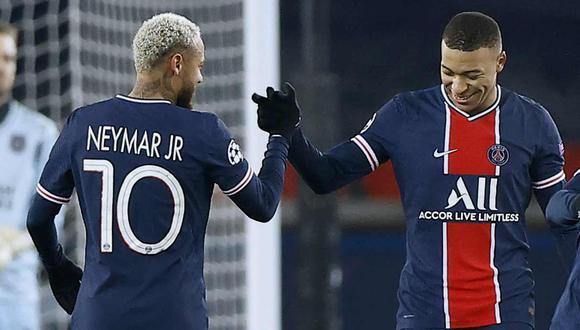 Marco Verratti confía en la renovación de Neymar Kylian Mbappé con PSG. (Foto: EFE)