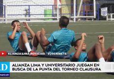 Alianza Lima y Universitario de Deportes pelean la punta del torneo peruano