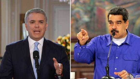 El presidente de Colombia, Iván Duque, señaló que el presidente de Venezuela, Nicolás Maduro, protege a miembros de las FARC. (Foto: REUTERS/GETTY IMAGES, vía BBC Mundo).