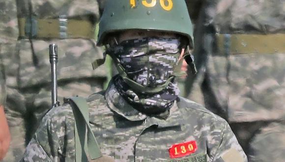 Son Heung-Min se sumó a la milicia el pasado 20 de abril. (Foto: AP)