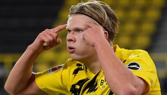 Erling Haaland llegó a Borussia Dortmund en la temporada 2019/2020. (Foto: EFE)