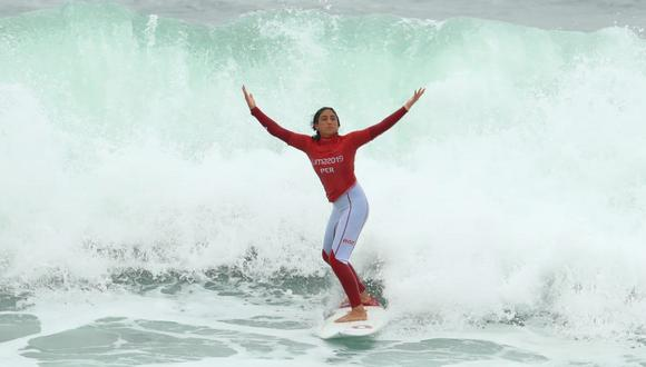 Daniella Rosas y su gran rutina en surf por la que se consagró con la medalla de oro en Lima 2019   VIDEO. (Foto: Alessandro Currarino)