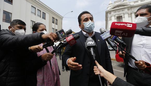 El congresista Mariano Yupanqui, presidente de la Comisión de Ética, consideró que podrían haberse infringido el artículo 4 del Código de Ética. (Foto: Archivo de GEC)