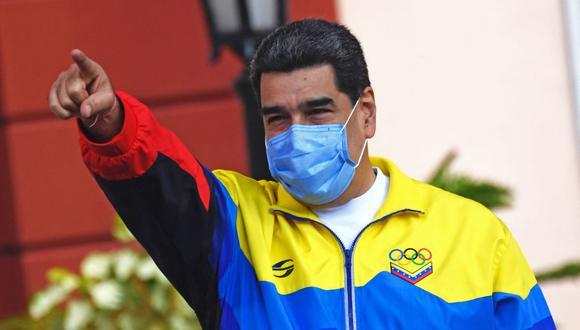 Nicolás Maduro anuncia la presencia en Venezuela de la variante brasileña de coronavirus. (Foto: Federico Parra / AFP).