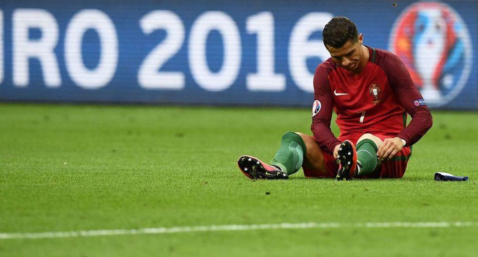 Cristiano Ronaldo desconsolado: su llanto al abandonar la final - 5