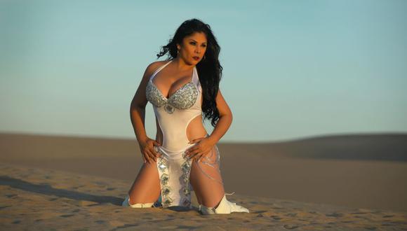 Yolanda Medina fundó 'Alma Bella' y en todo este tiempo se ganó un nombre en la cumbia peruana | Foto: Luis Enrique Rossel - Prensa Alma Bella